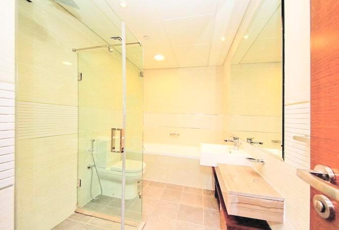 big bathroom and bathtub