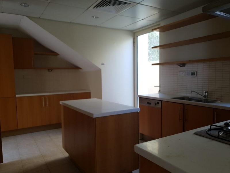 dark kitchen white counter
