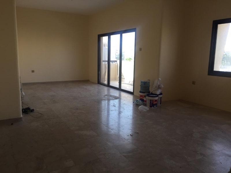 living room under maintenance