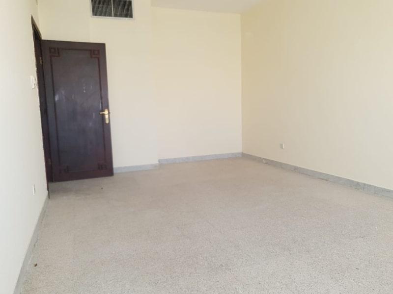 empty room dark door