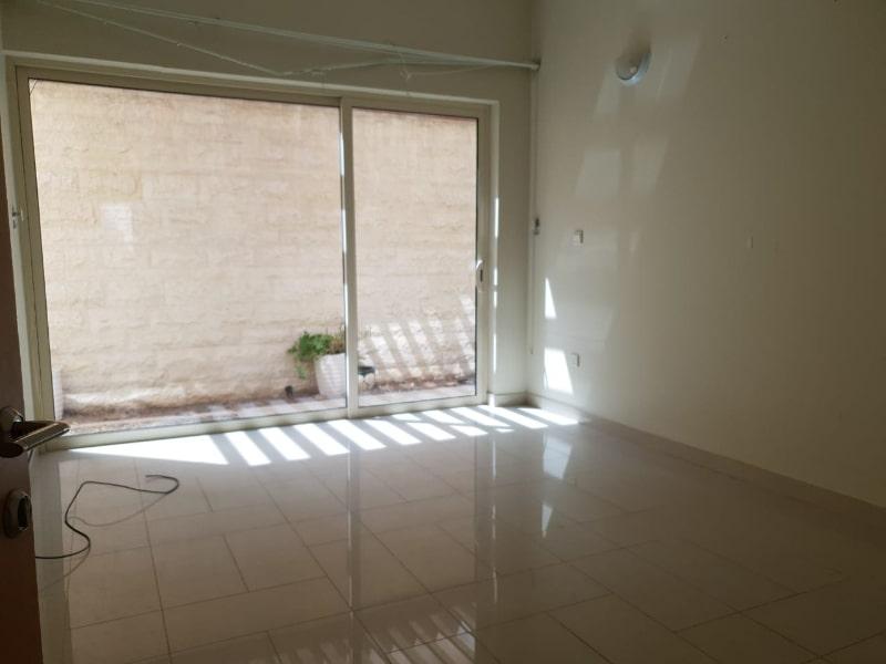 empty room with patio door