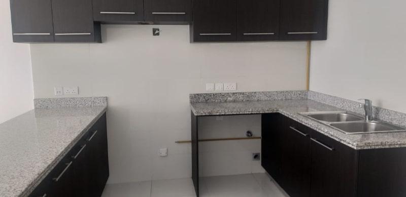 inside kitchen no oven