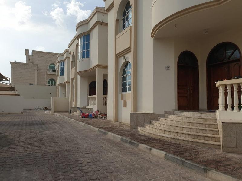 khalifa city empty street